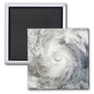 Hurricane Alex over the western Gulf of Mexico Fridge Magnets
