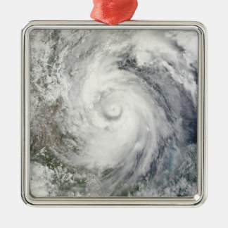 Hurricane Alex over the western Gulf of Mexico Metal Ornament