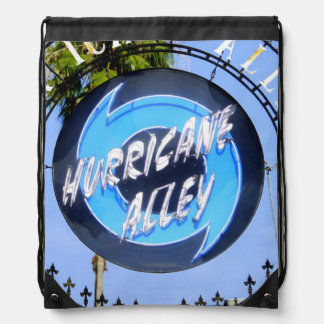 Hurricane Alley Drawstring Bag