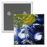Hurricane Andrew 2 Inch Square Button