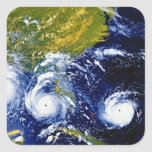 Hurricane Andrew Square Sticker