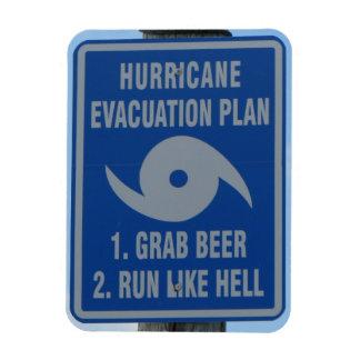Hurricane Beer Plan Magnet