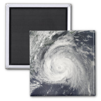Hurricane Bill off the East Coast 2 Inch Square Magnet