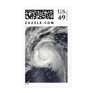 Hurricane Bill off the East Coast Postage Stamps