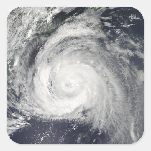 Hurricane Bill off the East Coast Sticker