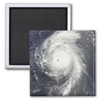 Hurricane Bill off the Lesser Antilles 2 Inch Square Magnet