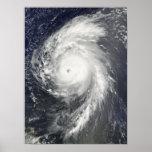 Hurricane Bill off the Lesser Antilles Poster