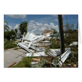 Hurricane Charley Aftermath, August 2004 Card