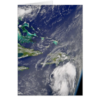 Hurricane Charley Satellite Image, August 10, 2004 Stationery Note Card