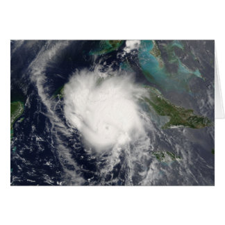 Hurricane Charley Satellite Image, August 12, 2004 Stationery Note Card