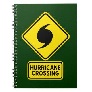Hurricane Crossing Notebook