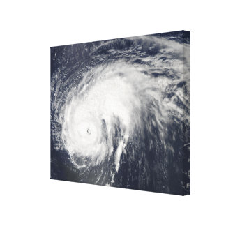 Hurricane Danielle Canvas Print