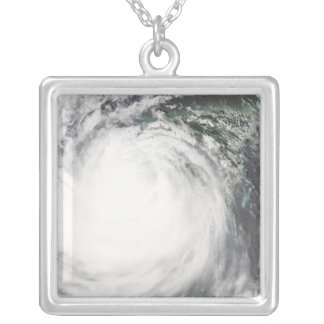 Hurricane Dean 2 Silver Plated Necklace