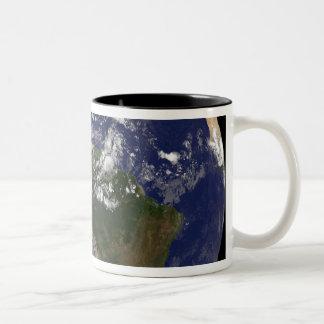 Hurricane Dean Approaches Yucatan Peninsula Two-Tone Coffee Mug