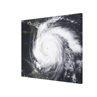 Hurricane Dean in the Atlantic and Carribbean Gallery Wrap Canvas