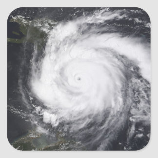 Hurricane Dean in the Atlantic and Carribbean Square Sticker