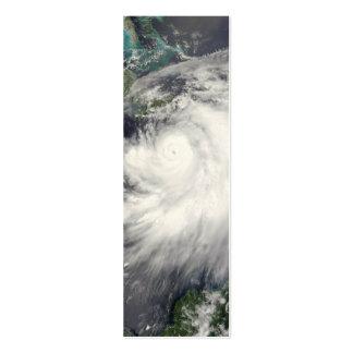 Hurricane Dennis Business Card Template