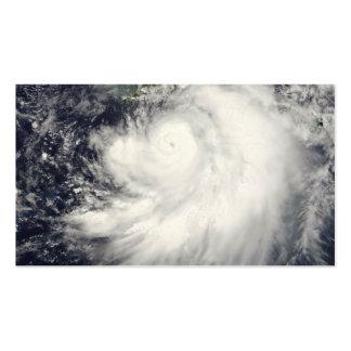 Hurricane Dennis Business Card Templates