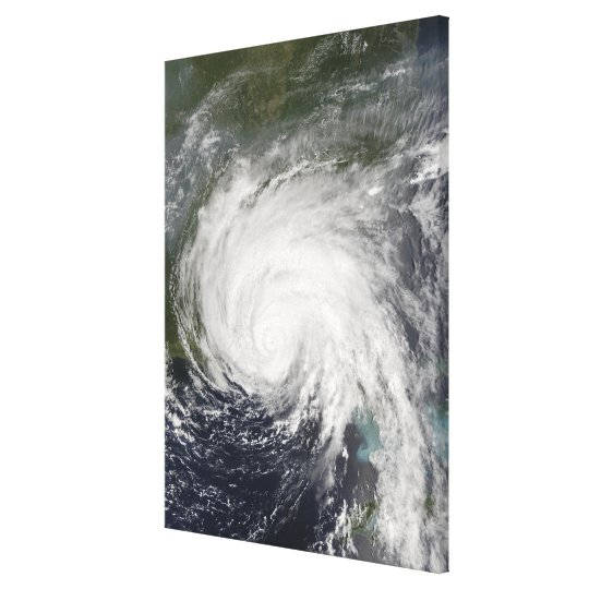Hurricane Dennis Canvas Print