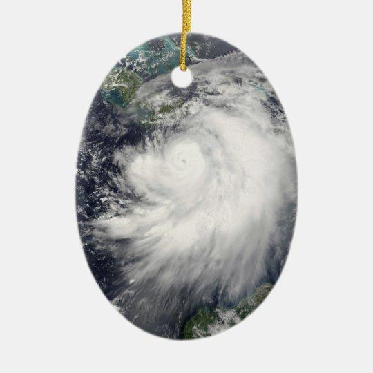 Hurricane Dennis Ceramic Ornament