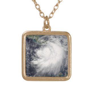 Hurricane Dennis Gold Plated Necklace