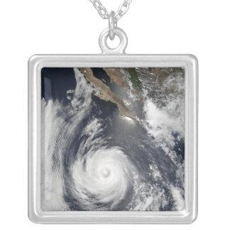 Hurricane Douglas Square Pendant Necklace