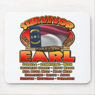 Hurricane Earl - Survivor Mouse Pad