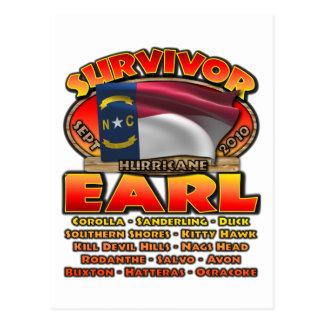 Hurricane Earl - Survivor Postcard