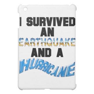Hurricane Earthquake iPad Mini Cases