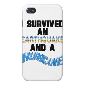 Hurricane Earthquake iPhone 4/4S Covers