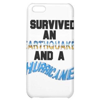 Hurricane Earthquake iPhone 5C Covers