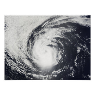 Hurricane Elida Poster