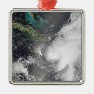Hurricane Ernesto Metal Ornament