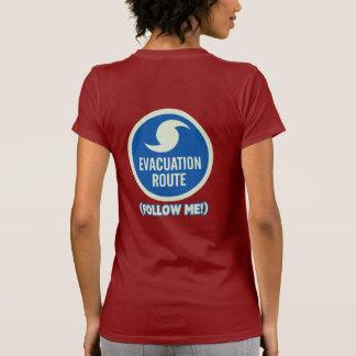 Hurricane Evacuation Route Follow Me Shirt