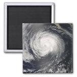 Hurricane Fausto 2 Inch Square Magnet