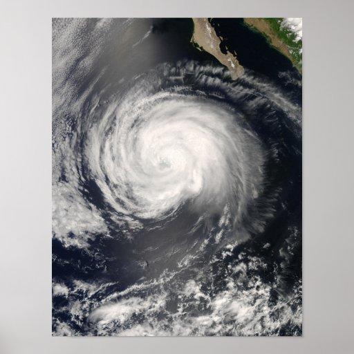 Hurricane Fausto Poster