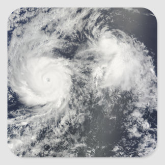 Hurricane Felicia and Storm Enrique east of Haw Square Sticker