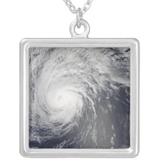 Hurricane Felicia Silver Plated Necklace