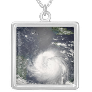Hurricane Felix 2 Silver Plated Necklace