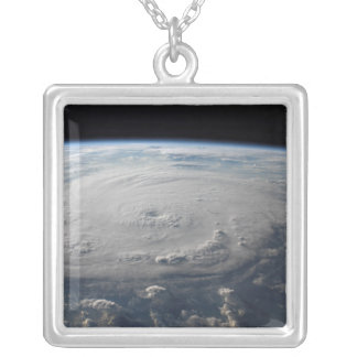 Hurricane Felix 4 Silver Plated Necklace