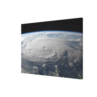 Hurricane Felix Canvas Print