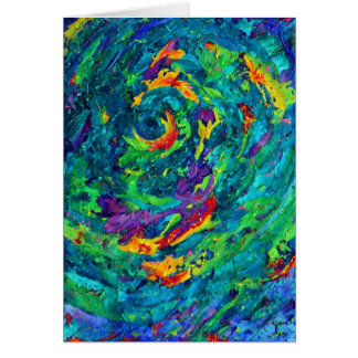Hurricane Fine Art Greeting Card Selah Gay