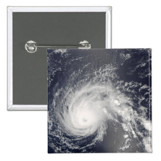 Hurricane Flossie 2 Inch Square Button
