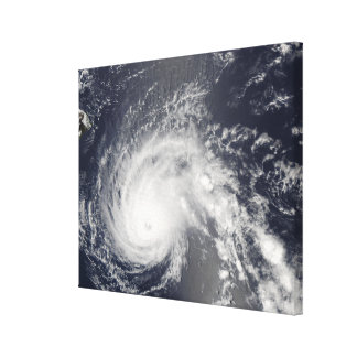 Hurricane Flossie Canvas Print