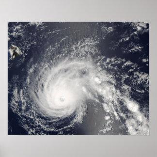 Hurricane Flossie Poster