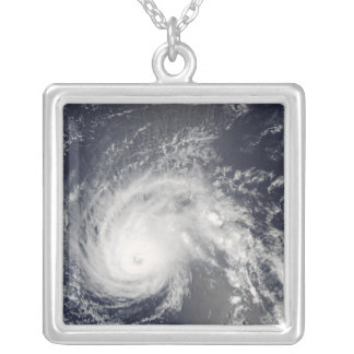 Hurricane Flossie Silver Plated Necklace