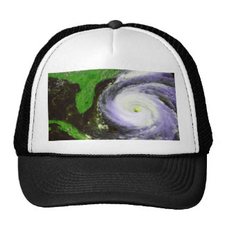 Hurricane Fran Off Florida - 1996 Satellite Image Trucker Hat