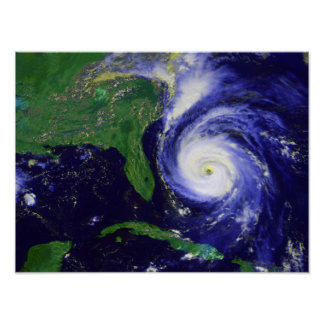 Hurricane Fran Poster