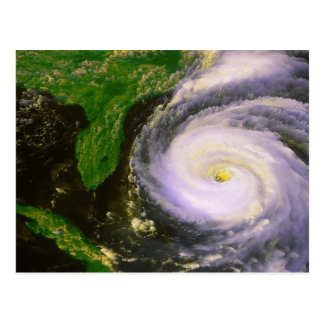 Hurricane Fran, September 1996 Postcard