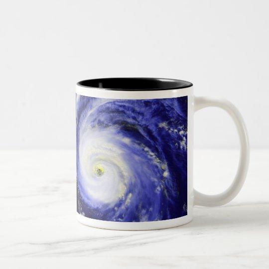 Hurricane Fran Two-Tone Coffee Mug
